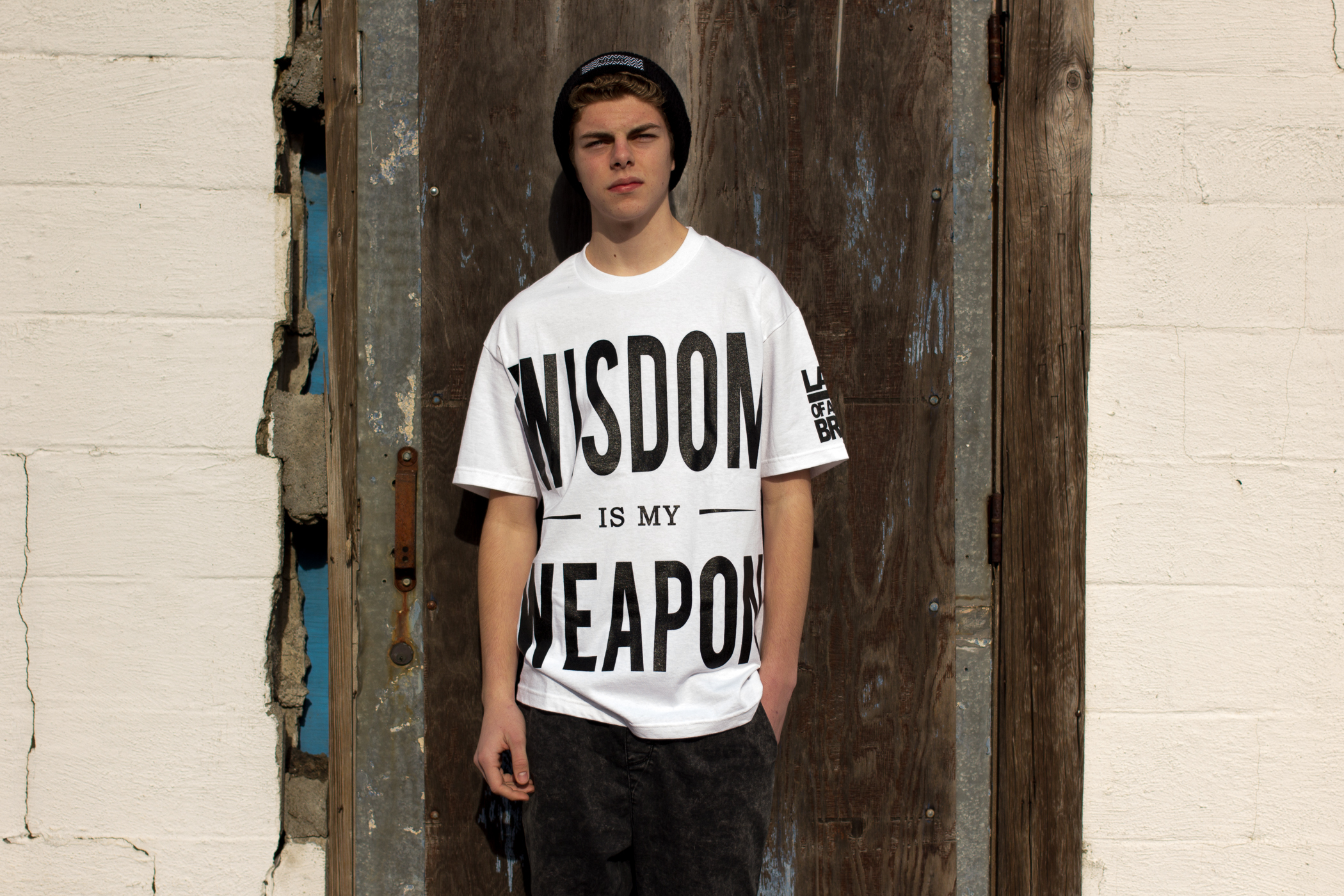 Wisdom Is My Weapon T-Shirt