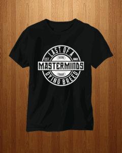 Masterminds T-Shirt (Display)