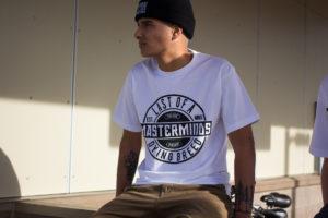 Masterminds T-Shirt -White (Railing)