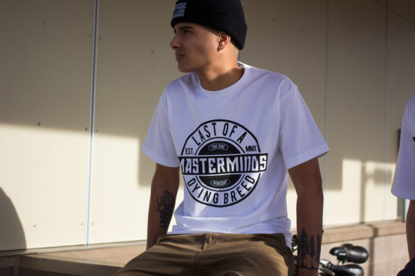 Masterminds T-Shirt -White (Railing)